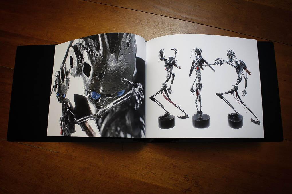 Portfolio Design and Layout of Jesse Woodward's work