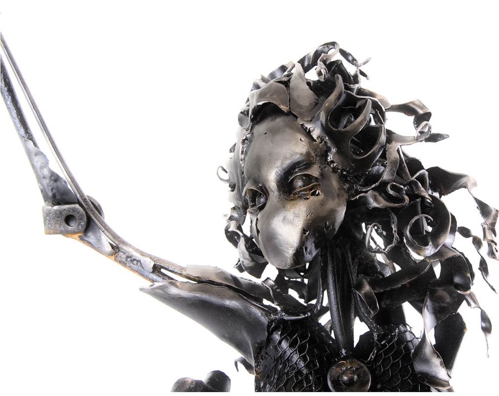 Product photography of Metal Sculpture by Jesse Woodward