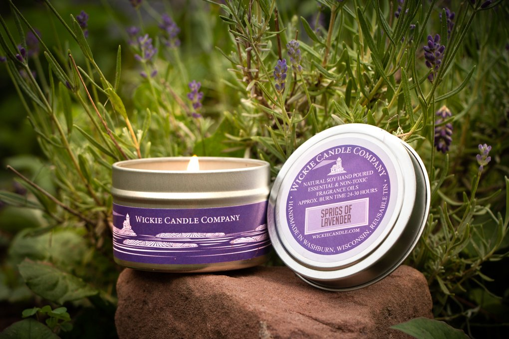 Product Photography with Lavendar by Oxygen Imagery and Web Design LLC