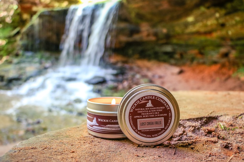 Product Photography at Lost Creek Falls by Oxygen Imagery and Web Design LLC