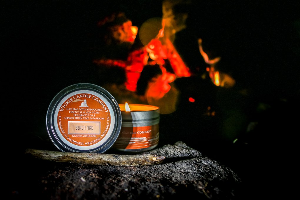 Product Photography with fire by Oxygen Imagery and Web Design LLC